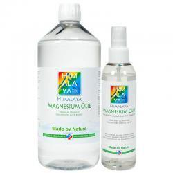 Himalaya 1000 ml. en 200 ml. magnesium olie combi pakket