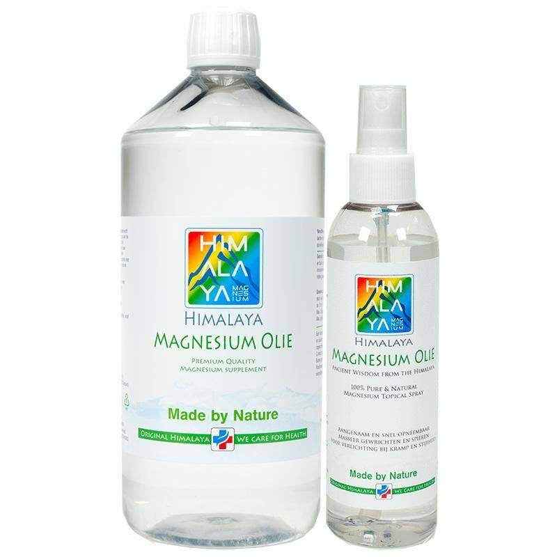 Himalaya magnesium chloride olie combi pakket