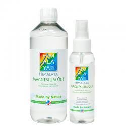 Himalaya 500 ml. en 100 ml. magnesium olie combi pakket