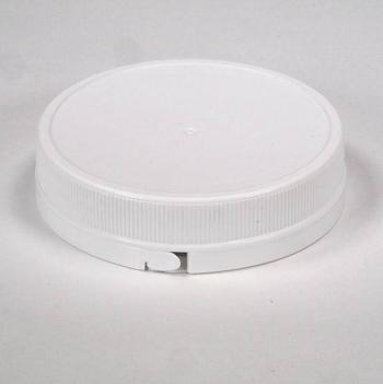 Hdpe pot 600 ml 89 mm neck inclusief Garantiedop wit (PRIJS OP AANVRAAG!) 1