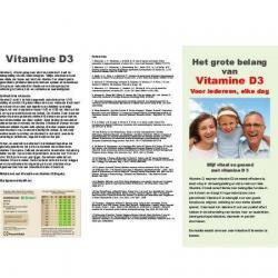Gebruiksaanwijzing SolMag Vitamine D3 (50st)