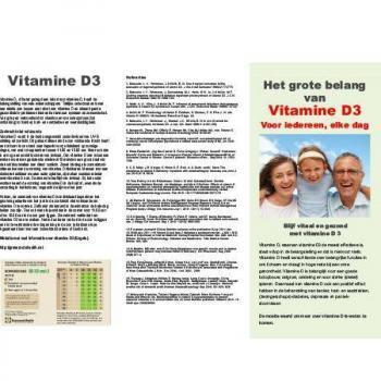 Solmag Vitamine D3 gebruiksaanwijzing